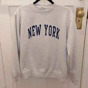 Brandy Melville NY sweatshirt one size